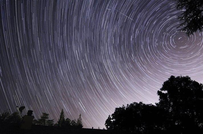 Threshold 2: Star Trails by F.W.