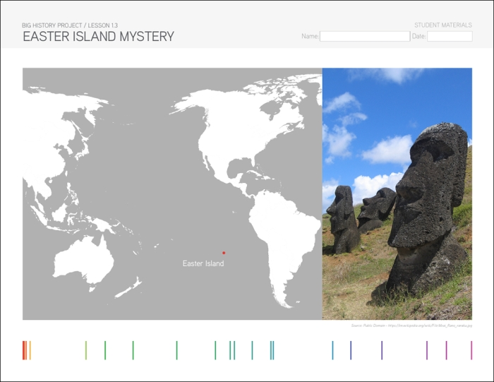 a research of the mystery of easter island However, a team of archaeologists at ucla developed the easter island statue  project to better study and preserve the artifacts through this.