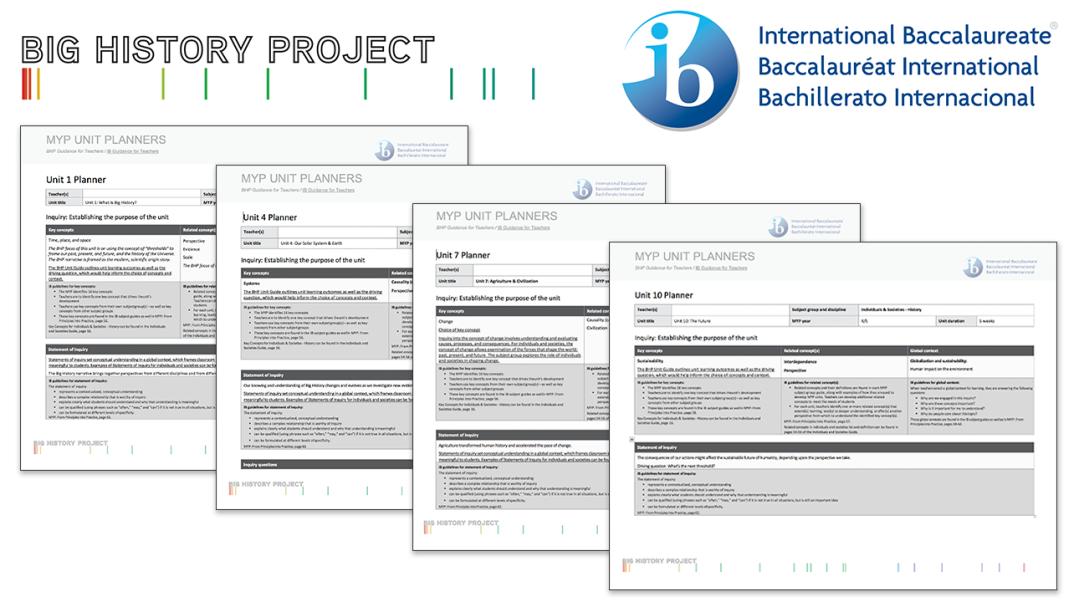 Big History and the IB Middle Years Program – BHP Teacher Blog
